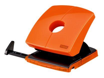 Perforator Novus B230 Color ID, 30 file portocaliu