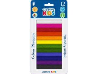 Plastilină Creative Kids 12/set