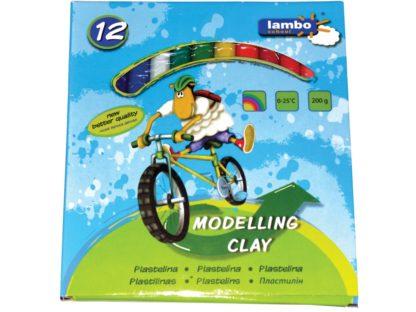 Plastilină Lambo School 12/set
