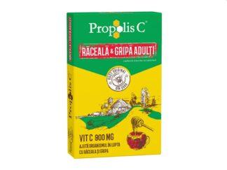 Propolis C răceală și gripă adulți 8 pl/cut