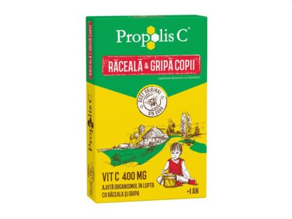 Propolis C răceală și gripă copii 8 pl/cut
