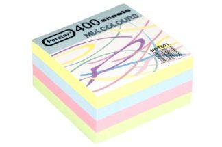 Rezervă cub din hârtie color 400 file