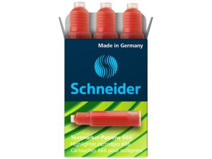 Rezervă Schneider Maxx Eco 666 roșu