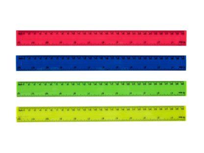 Riglă din plastic color
