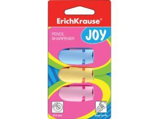 Set ascuțitoare din plastic Erich Krause Joy, 3 buc