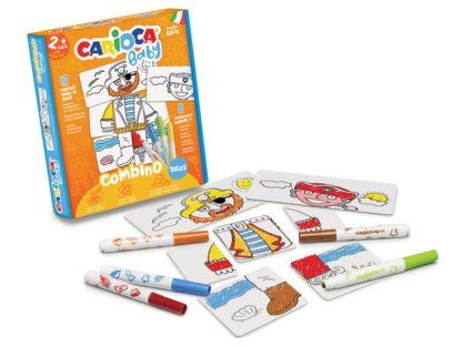 Set creativ Carioca Baby 2+ Tales exemplu