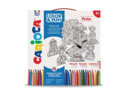 Set creativ Color & Play Carioca Pirați cutie