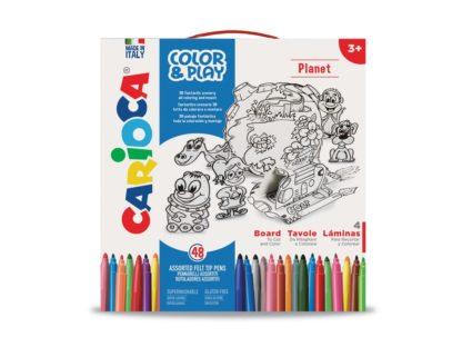 Set creativ Color & Play Carioca Planet cutie