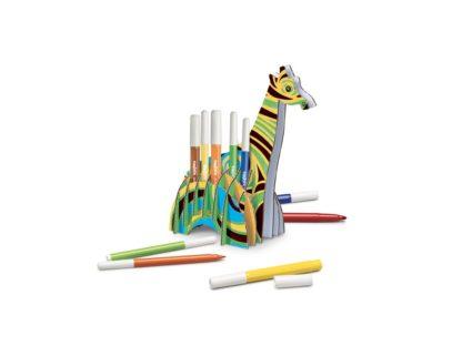 Set creativ Create & Color Carioca Girafa 3D model