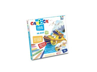 Set creativ Create & Color Carioca Mr. Boat 3D