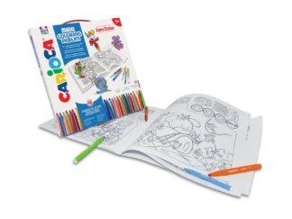 Set creativ Maxi Coloring Album Game Station