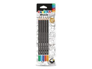 Set creioane grafit CARIOCA Black