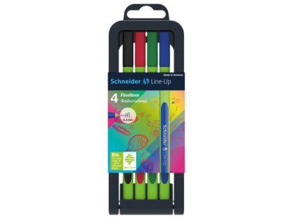 Set Liner Schneider Line-Up 4 culori