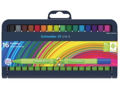 Set Liner Schneider Link-It 0,4 mm, 16 culori