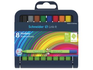 Set Liner Schneider Link-It 0,4 mm, 8 culori