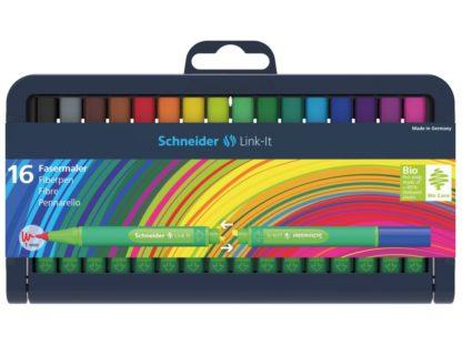 Set Liner Schneider Link-It 1,0 mm, 16 culori