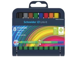 Set Liner Schneider Link-It 1,0 mm, 8 culori