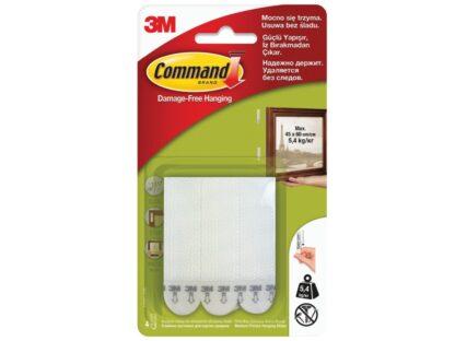 Sistem tip arici susținere tablouri design mediu Command 3M