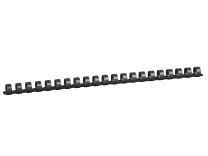 Spirală 14 mm din plastic negru