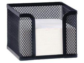 Suport metalic pentru cub notițe negru
