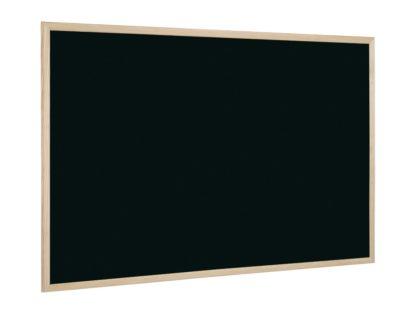 Tablă neagră cu ramă din lemn 80 x 60 cm