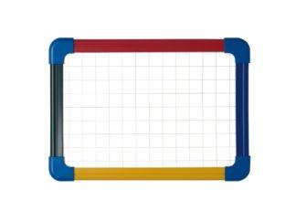 Tablă școlară cu ramă color A4 Bi-Silque