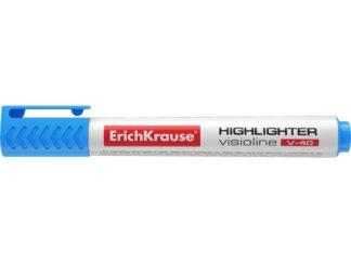 Textmarker Erich Krause Visioline V40 albastru