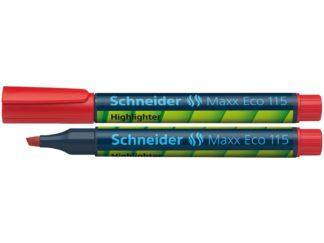 Textmarker Schneider Maxx Eco 115 roșu
