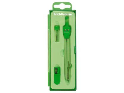 Trusă geometrie S-Cool verde