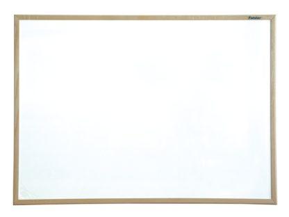Whiteboard magnetic cu ramă din lemn 60 x 40 cm Forster